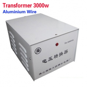 3000W 110V to 220V Power Transformer/ Toroidal Transformer Use Aluminium Wire
